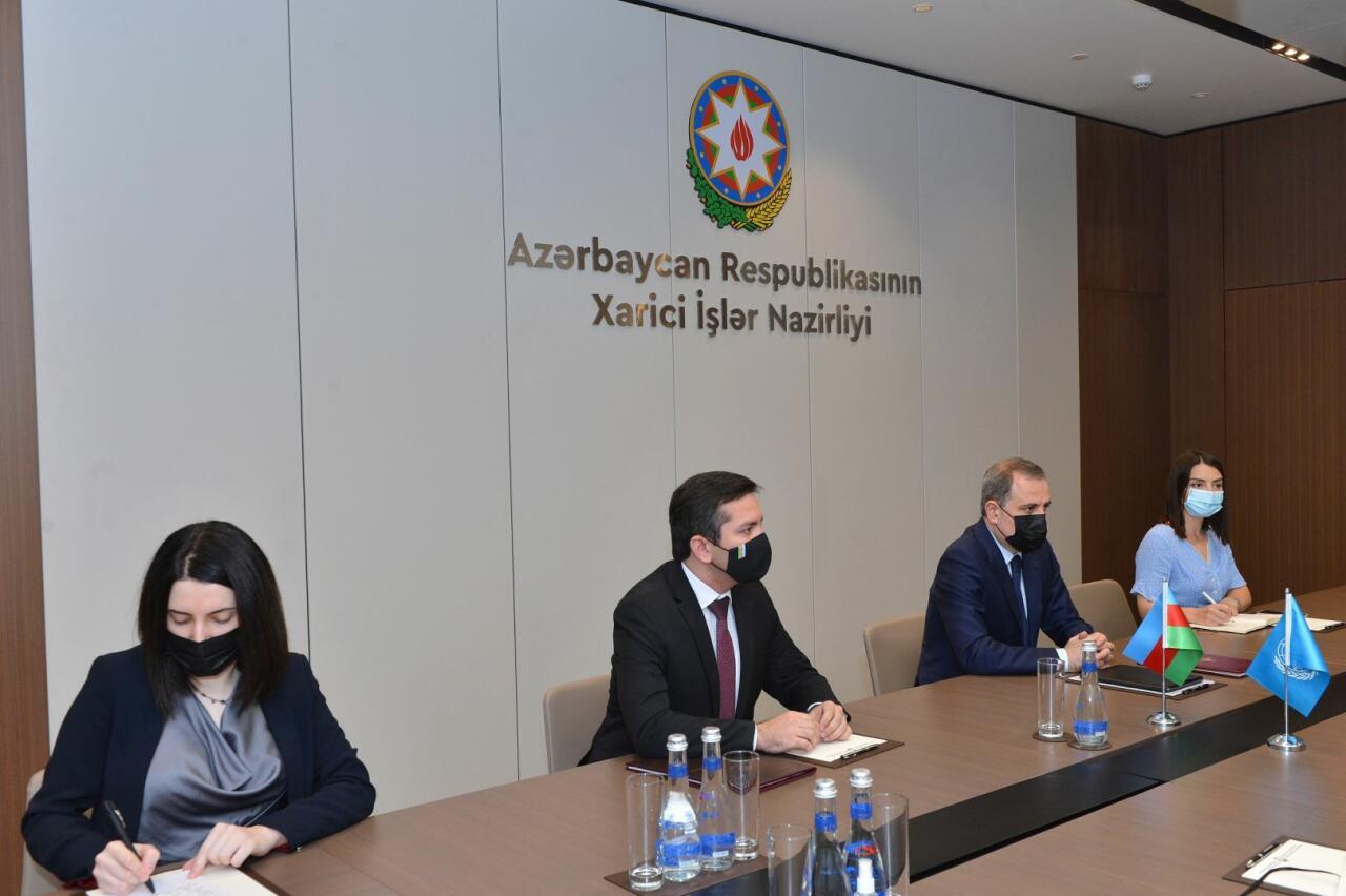 Глава МИД обсудил перспективы сотрудничества с резидентом-координатором ООН