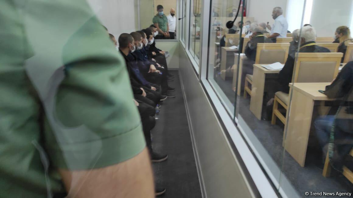 В Баку началось судебное заседание по делу еще 13 армянских террористов