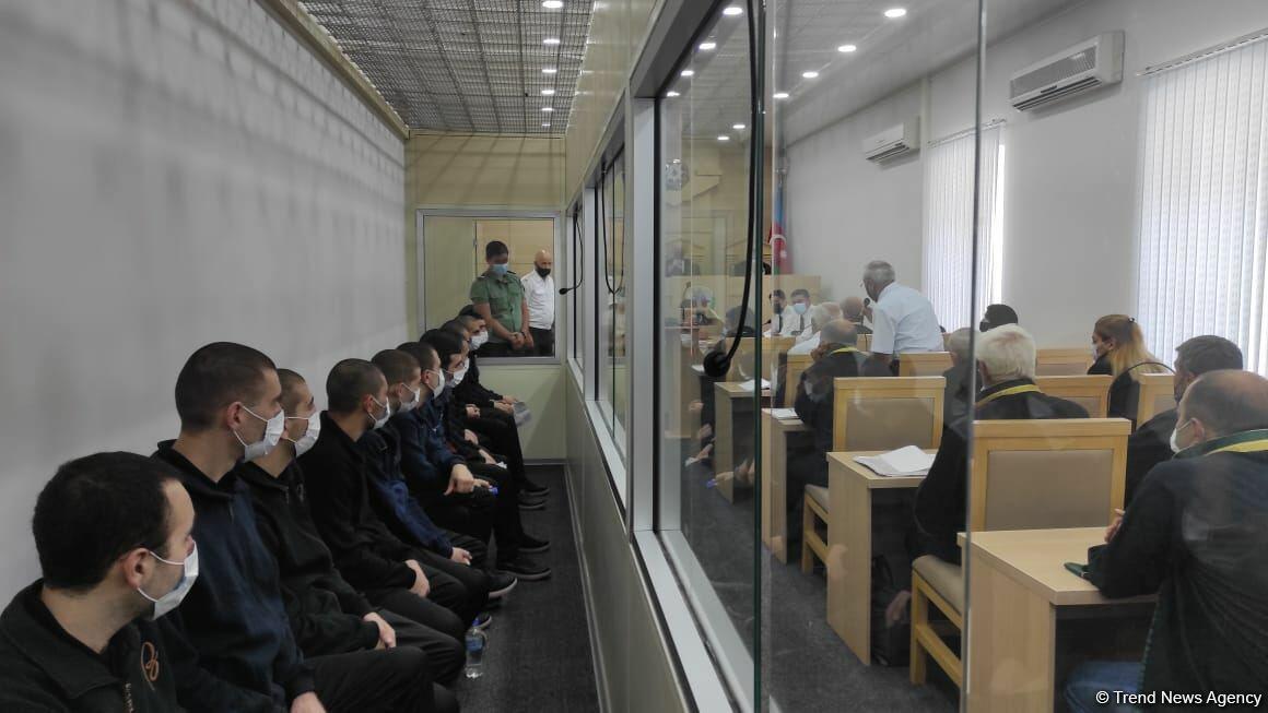 Объявлена дата очередного суда в Баку над 13 армянскими террористами