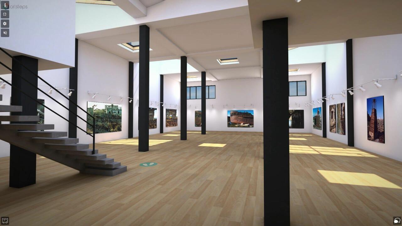 Виртуальная галерея на острове Бёюк-Зиря