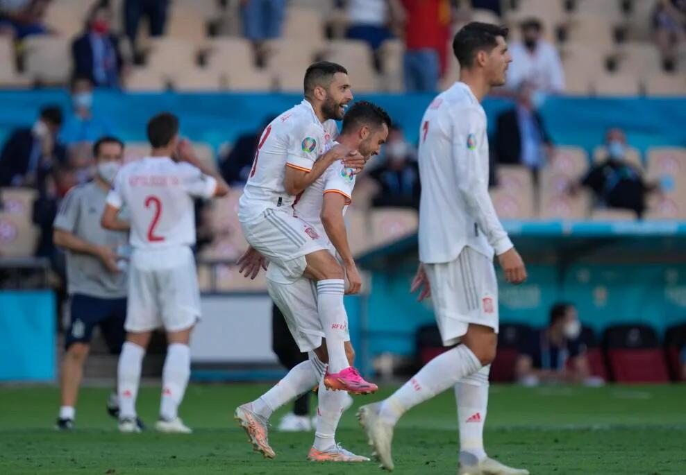 ЕВРО-2020: Сборная Испании разгромила Словакию и вышла в плей-офф