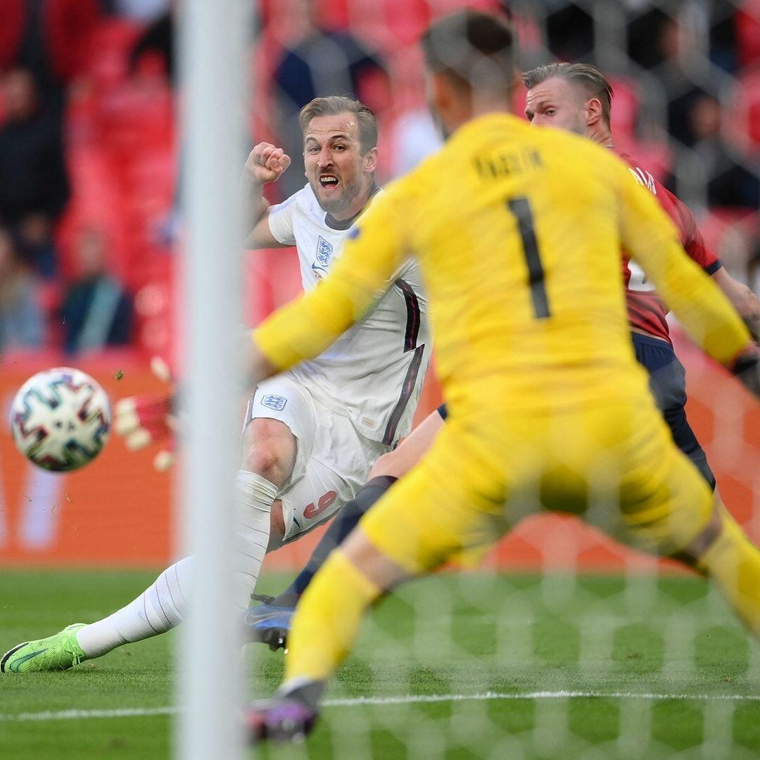Сборная Англии обыграла команду Чехии в матче чемпионата Европы