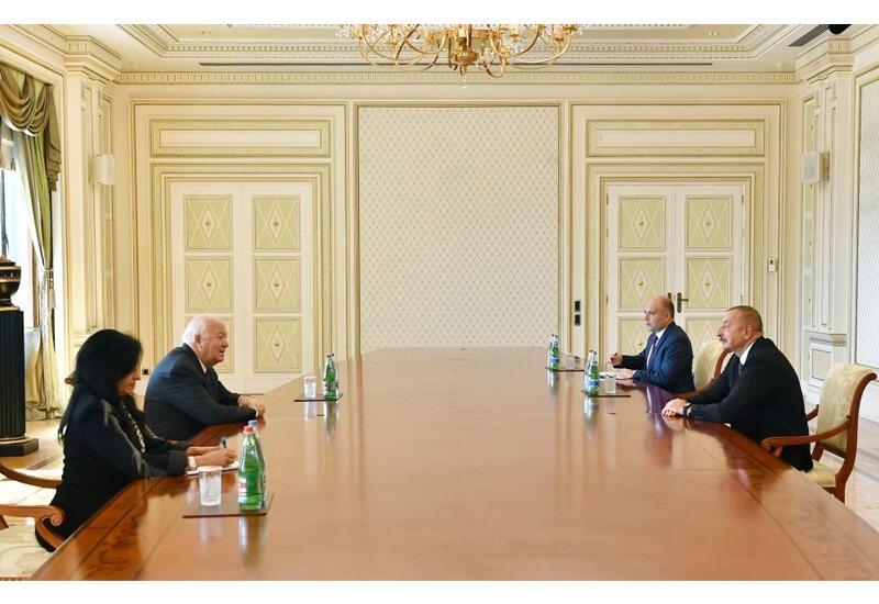 Президент Ильхам Алиев принял Верховного представителя Альянса цивилизаций ООН