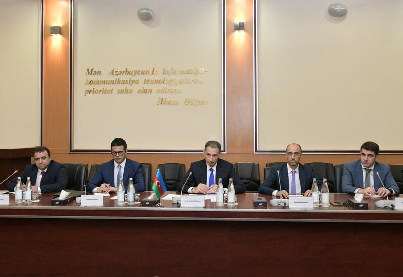 Азербайджан и ОАЭ обсудили сотрудничество в сфере высоких технологий