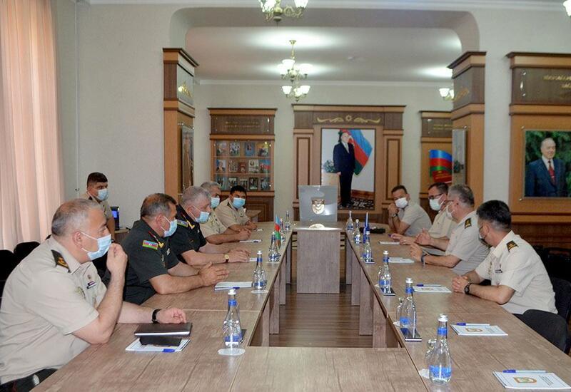 Делегация командования Сухопутных войск НАТО побывала в Военной академии ВС Азербайджана