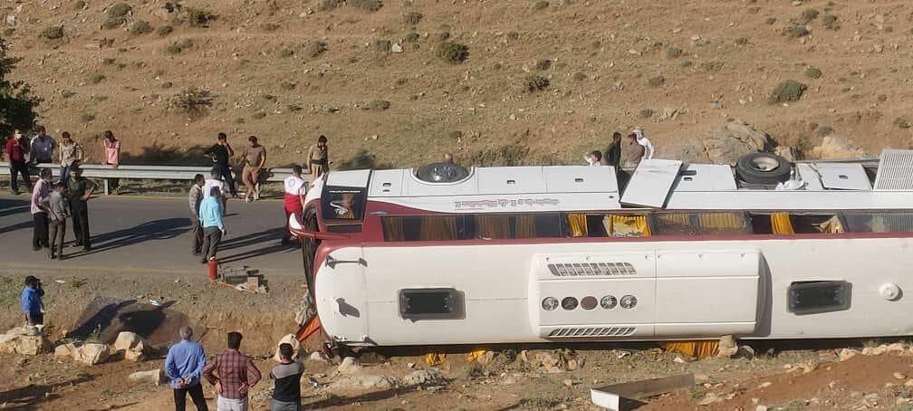 В Иране перевернулся автобус с журналистами,