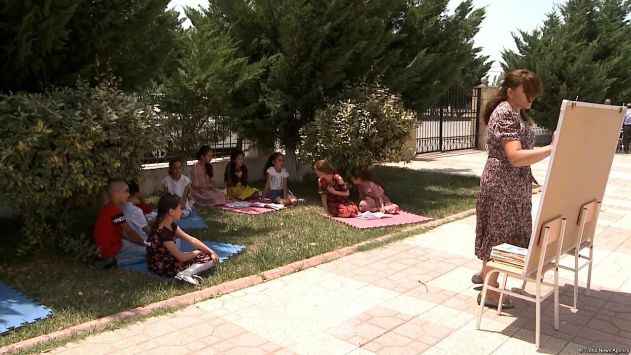 Стартовала летняя школа для детей из Лачина
