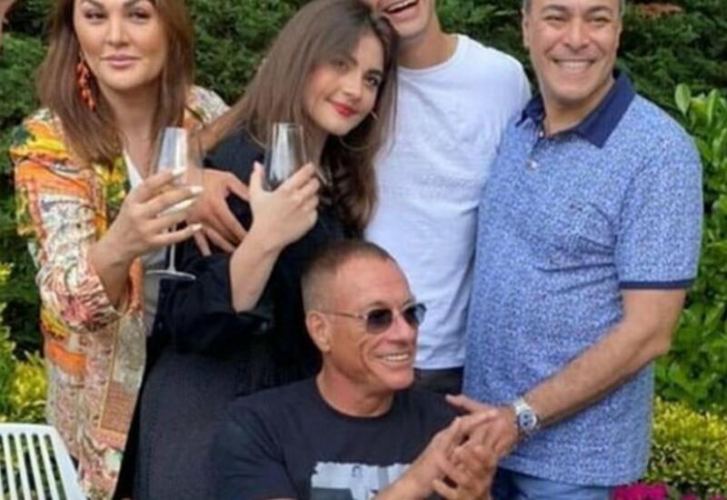 Van Dammın azərbaycanlı gəlininə ağır itki üz verib