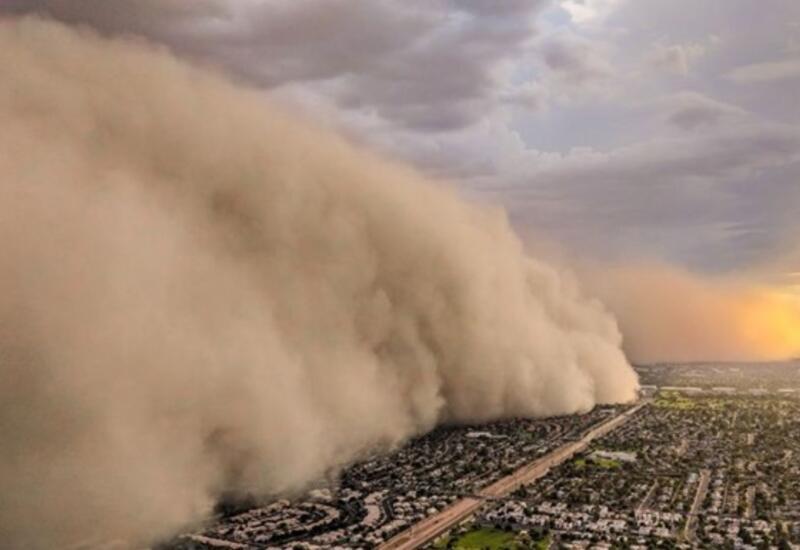 Пылевое облако из Сахары накрыло Европу