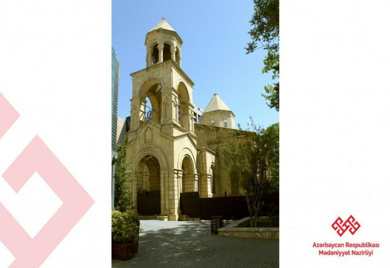 Верховный представитель ООН посетил армянскую церковь в Баку