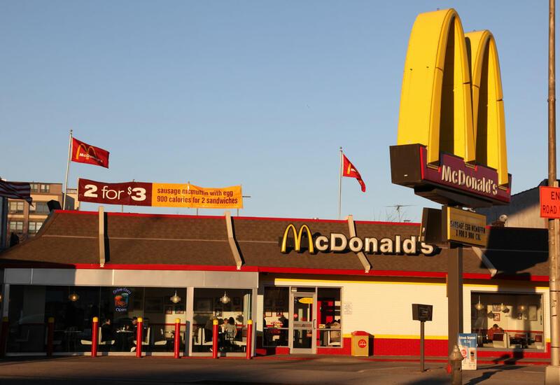 В США можно вакцинироваться в McDonalds