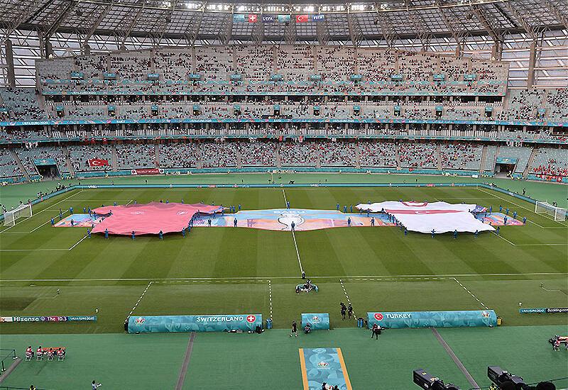 Бакинский олимпийский стадион среди самых посещаемых арен ЕВРО-2020