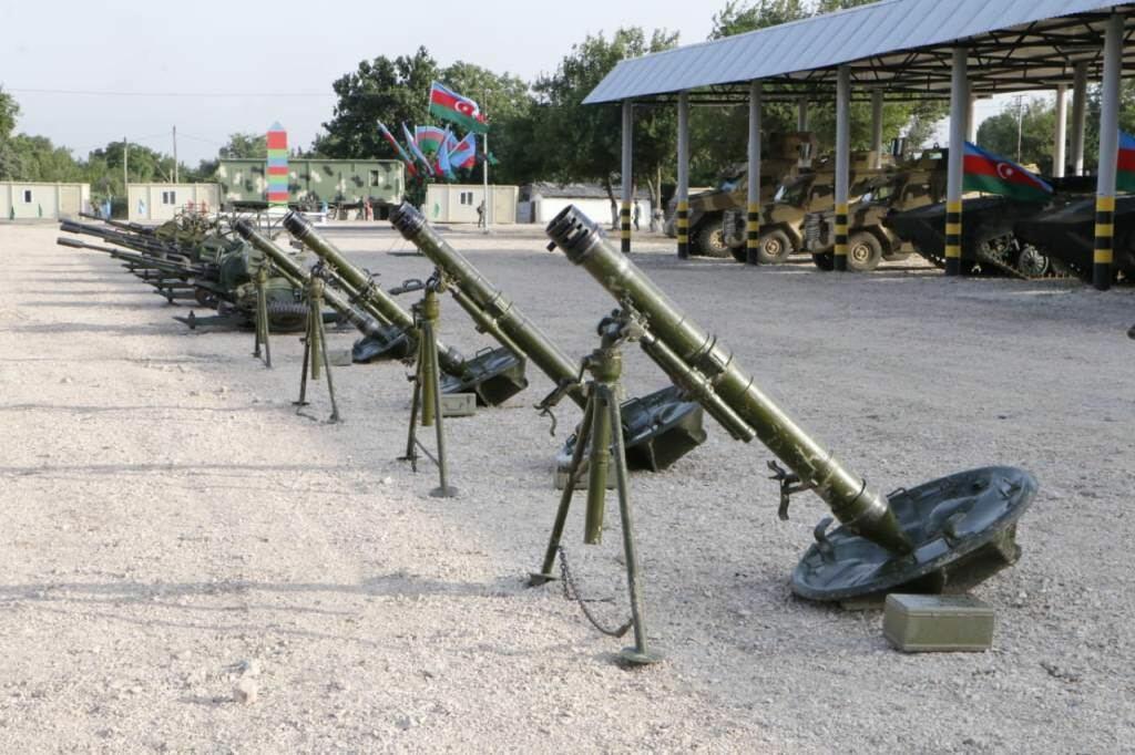 На границе с Арменией открылась еще одна воинская часть Азербайджана
