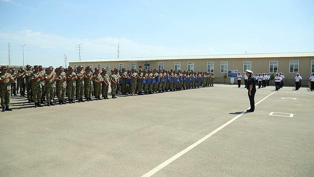 В ВМС Азербайджана состоялось мероприятие в преддверии Дня Вооруженных сил