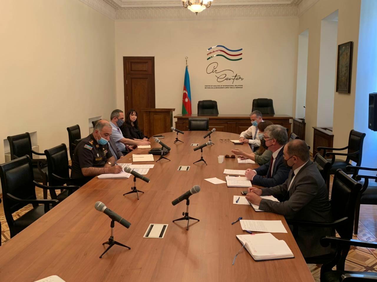 Состоялось очередное заседание Рабочей группы по расчистке от мин и неразорвавшихся боеприпасов на освобожденных территориях Азербайджана