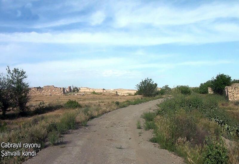 Село Шахвелли Джебраильского района