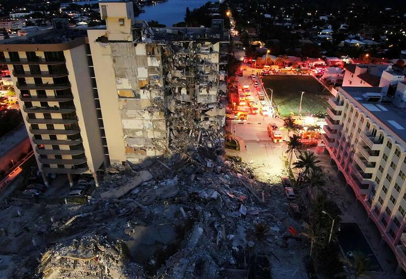 Байден объявил режим ЧС во Флориде после обрушения 12-этажного дома