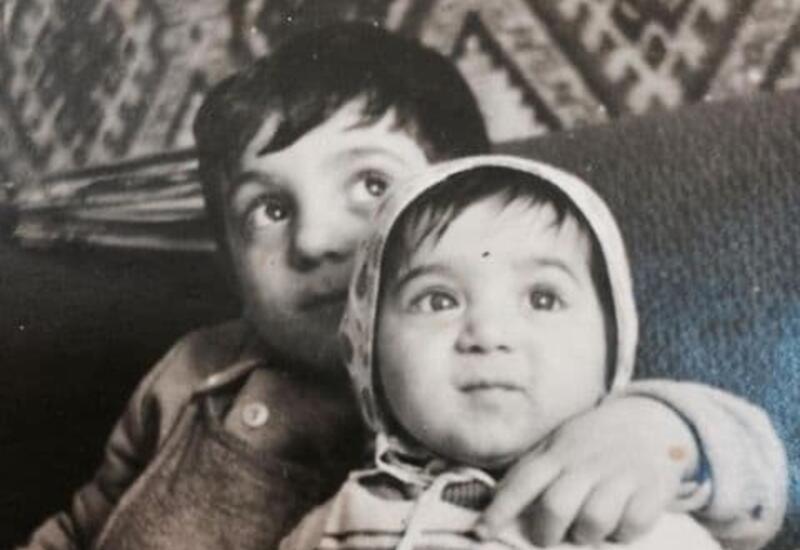 Бахрам Багирзаде поделился с подписчиками архивным снимком с сестрой