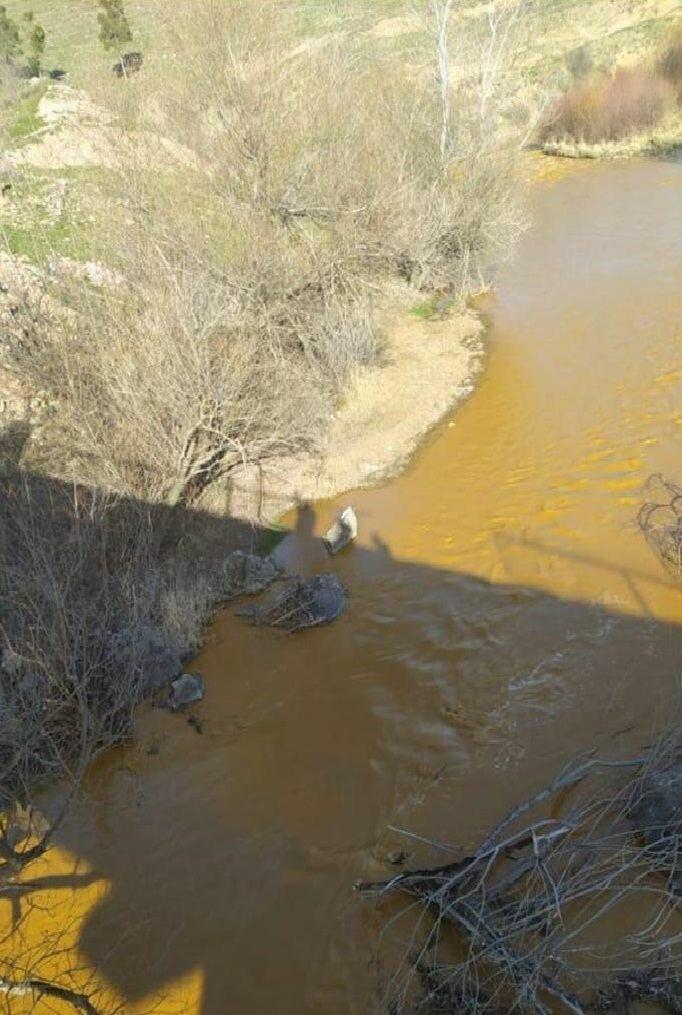 Армения и немецкая компания загрязняют реку Охчучай в катастрофических масштабах