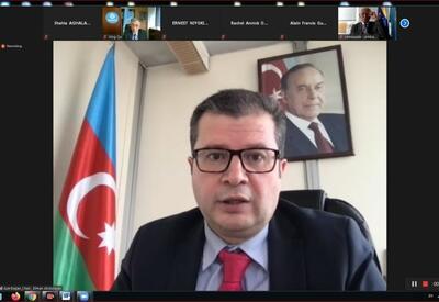 В рамках азербайджанского представительства состоялось пленарное заседание группы Движения неприсоединения при ЮНЕСКО - ФОТО
