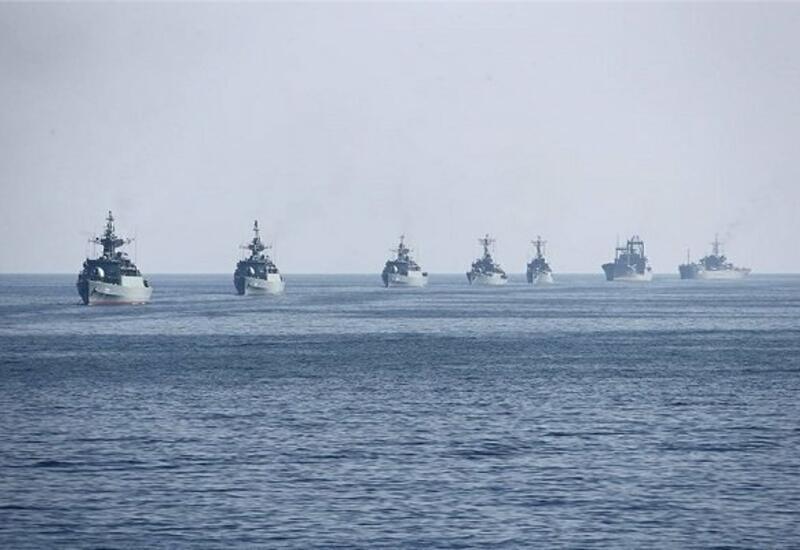 Иран начал военные учения в Каспийском море