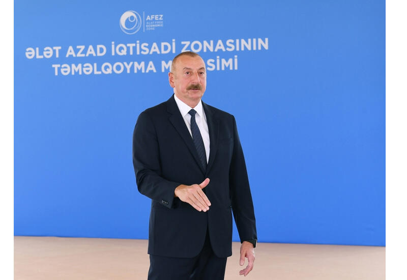Президент Ильхам Алиев: На сегодняшний день все наши инициативы, все планы нашли отражение в жизни