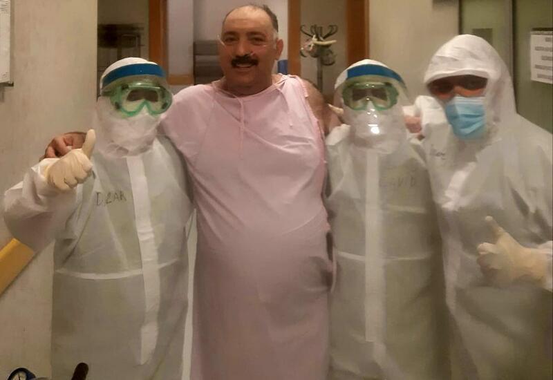 Бахрам Багирзаде написал о том, как год назад вылечился от коронавируса