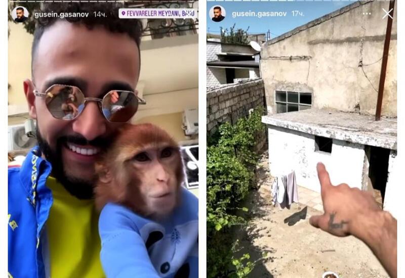 Гусейн Гасанов показал фанатам, где провел детство в Баку