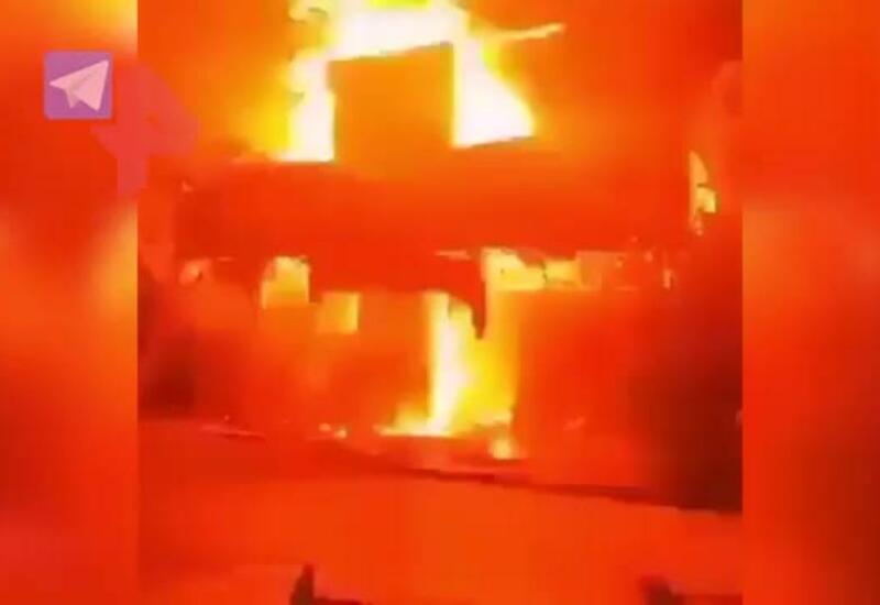 Видео последствий мощного взрыва в Тегеране