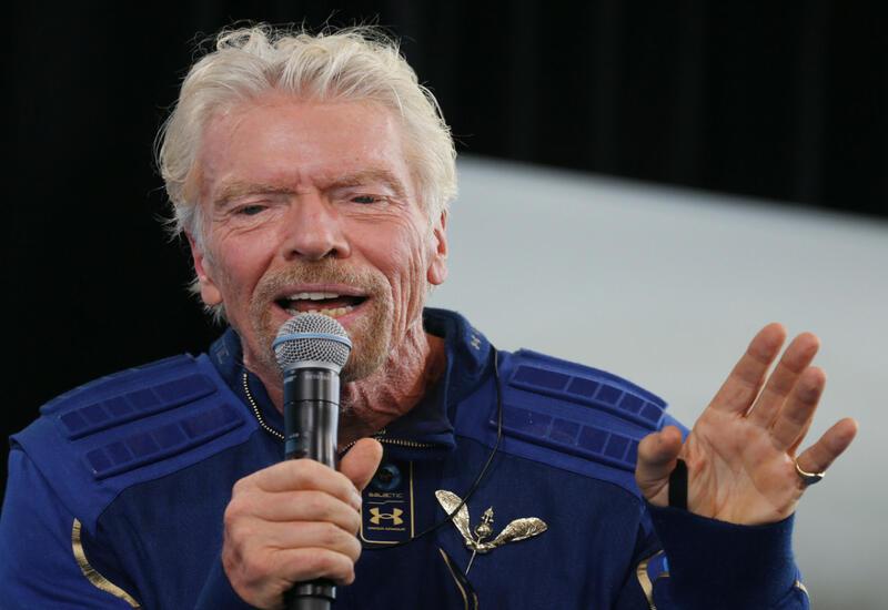 Миллиардер Брэнсон рассказал о полете в космос