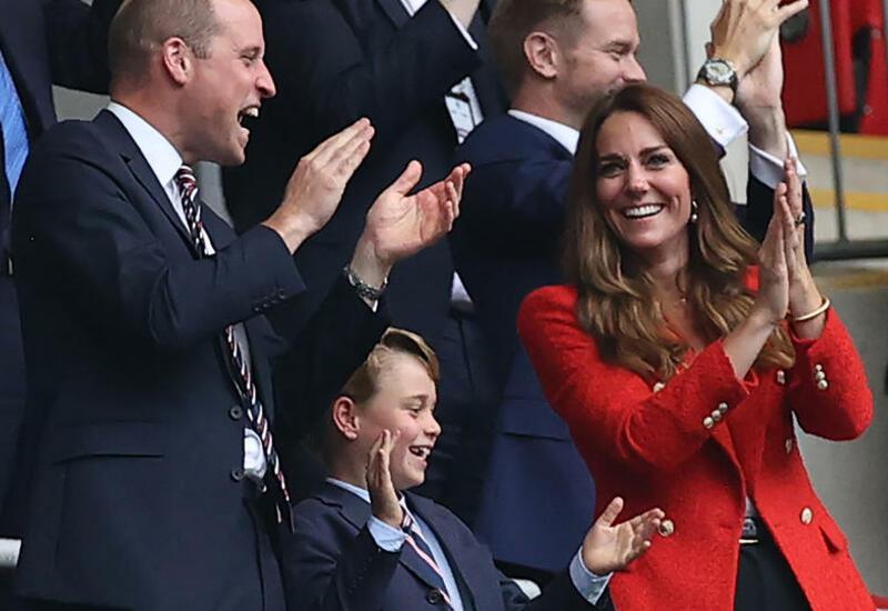 Реакция принца Джорджа на гол сборной Англии покорила Сеть