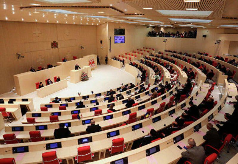В парламенте Грузии произошла драка
