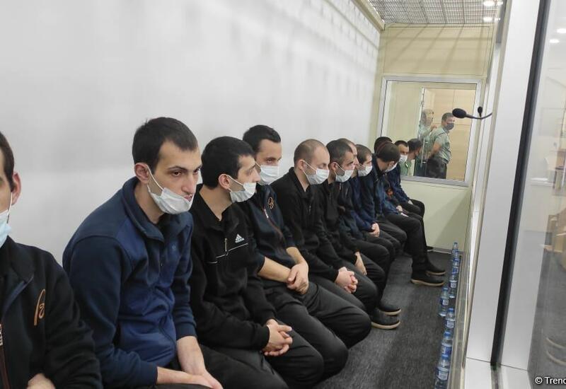 В Баку вынесен приговор еще 13 членам армянской вооруженной группировки