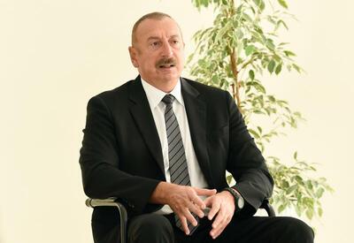 Президент Ильхам Алиев: Между Арменией и Азербайджаном должен быть мирный договор