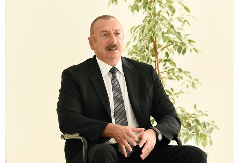 Президент Ильхам Алиев: Мы на поле боя отомстили за шехидов Первой и Второй карабахских войн и можем гордиться этим