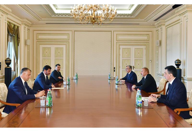 Президент Ильхам Алиев принял мэра Тбилиси