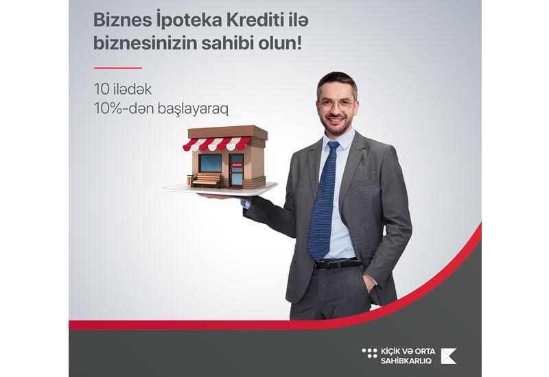 Kapital Bank предлагает бизнесменам выгодный ипотечный кредит (R)