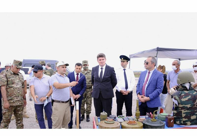 Проведено совместное заседание Рабочих групп по разминированию и по вопросам военно-гражданской координации