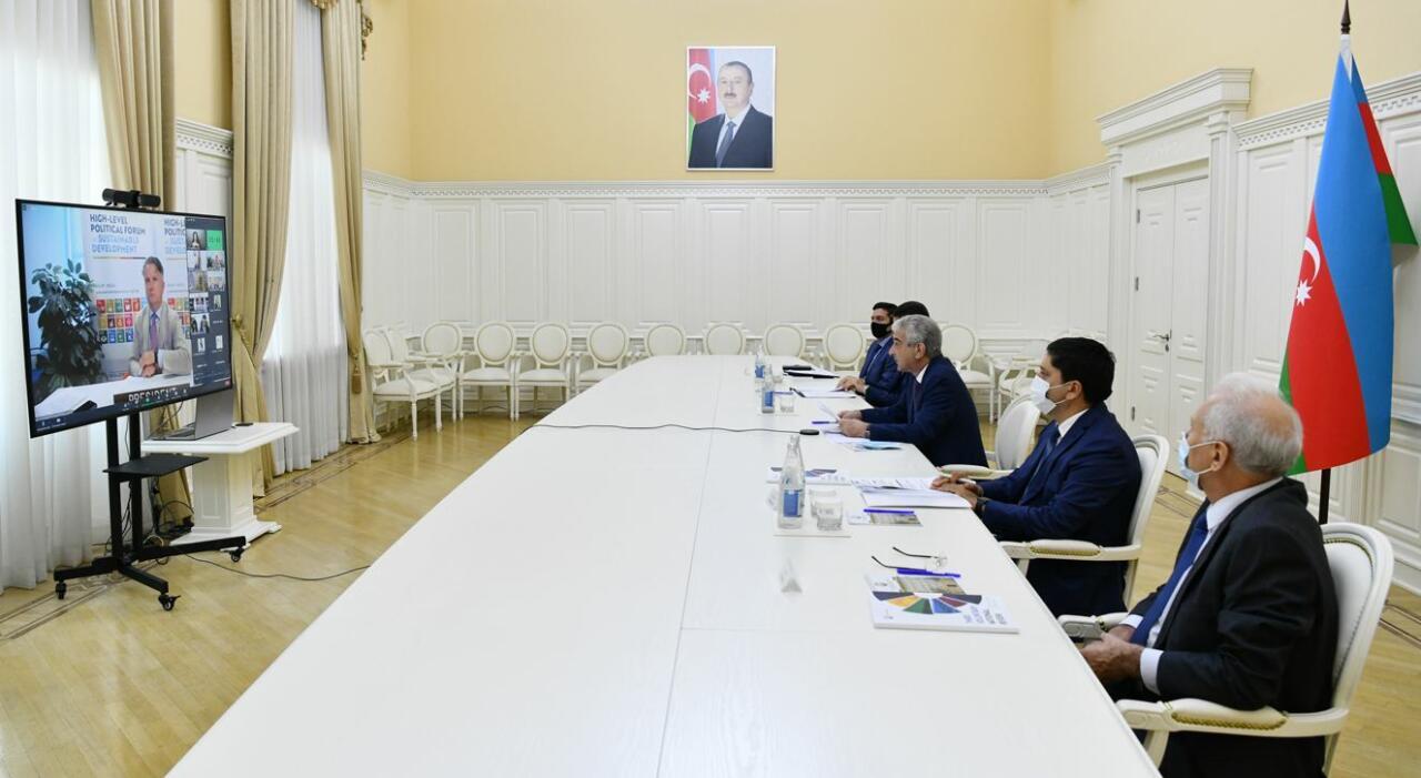 Состоялась презентация третьего Добровольного национального обзора Азербайджана