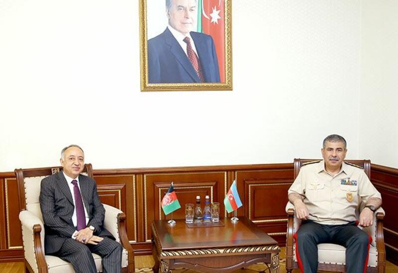 Закир Гасанов на переговорах с новоназначенным послом Афганистана