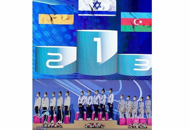 Команда Азербайджана завоевала бронзу на Гран-при по художественной гимнастике в Израиле