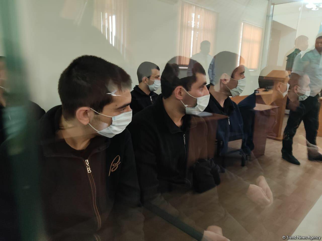 В Баку отложено заседание суда по делу еще 13 армянских террористов