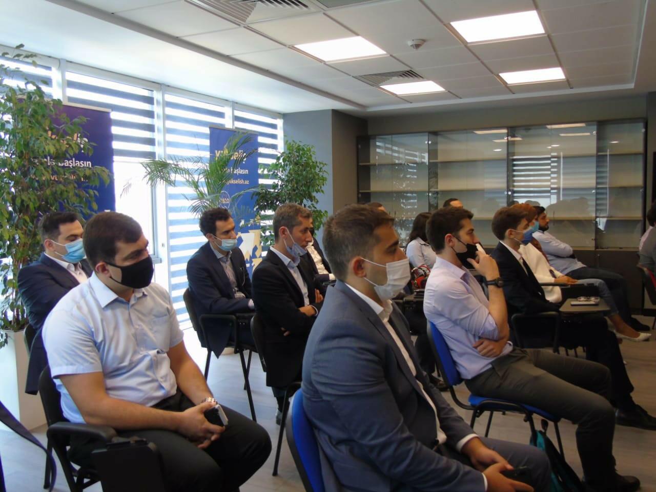 Рабочая группа конкурса Yüksəliş провела встречу с победителями