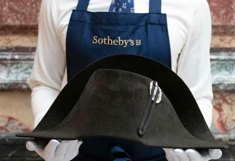 Шляпу Наполеона продадут через Интернет