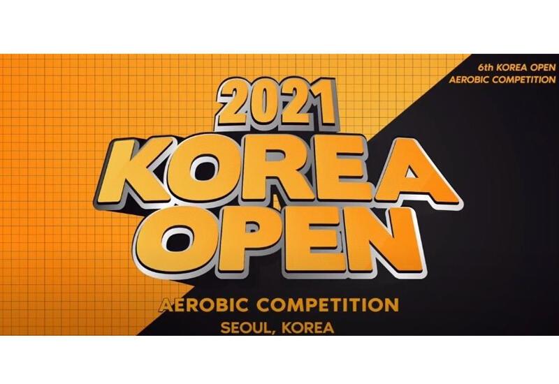 Азербайджанские гимнасты завоевали медали на онлайн-соревновании по аэробной гимнастике Korea Open
