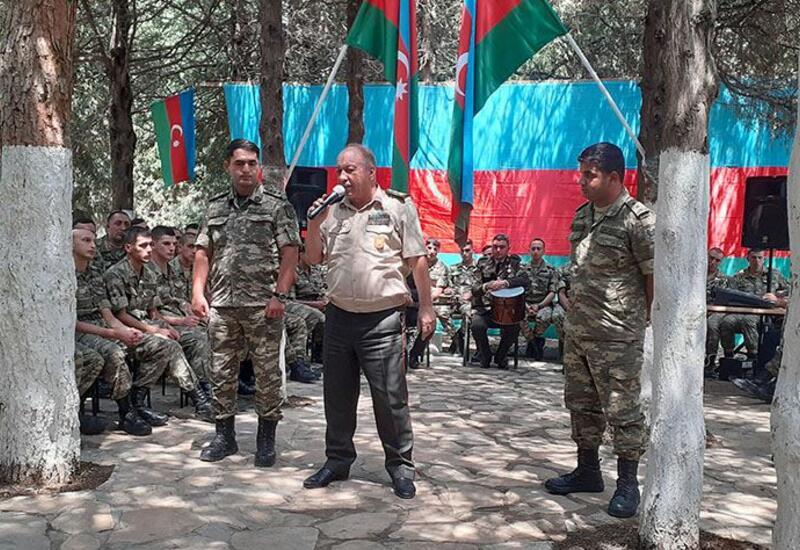 """""""Zəfər bayrağımız etibarlı əllərdədir!"""" adlı tədbir keçirilib"""