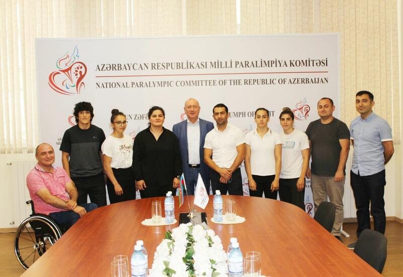 В Баку прошли встречи со спортсменами, завоевавшими лицензии на Летние Паралимпийские игры 2020 в Токио