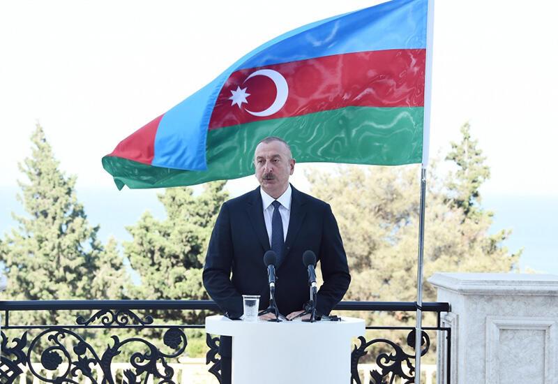 Prezident İlham Əliyev: Bütün kommunikasiyaların açılması Naxçıvana maneəsiz çıxış əldə etmək imkanı verəcək