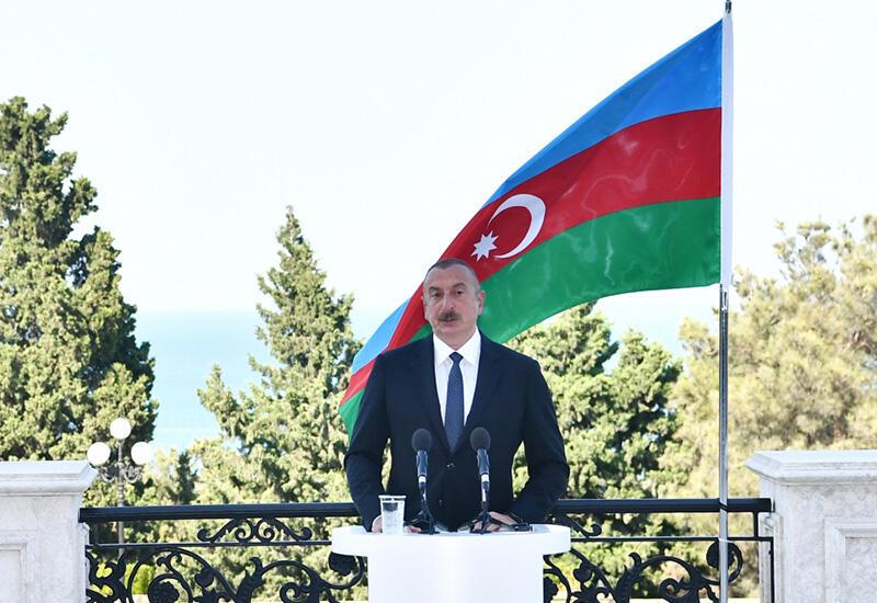 Prezident İlham Əliyev: Müasir nəqliyyat infrastrukturu Azərbaycana öz layihələrini qısa zamanda həyata keçirmək imkanı verəcək