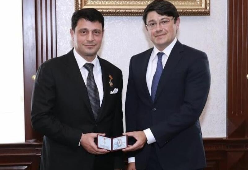 Герман Захарьяев награжден медалью Азербайджана «За заслуги в диаспорной деятельности»